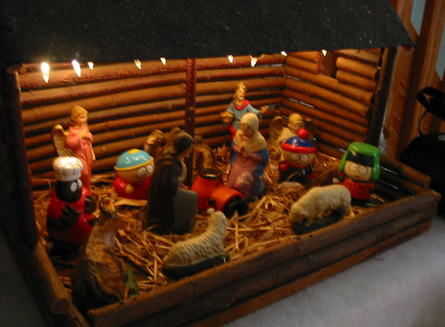 South Park Nativity Scene