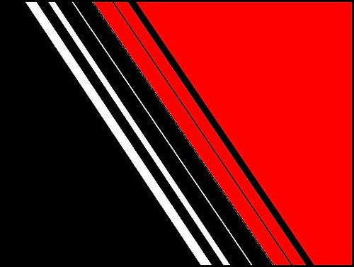 Abstract in red white and black flickr photo sharing for Black red white boxspringbett