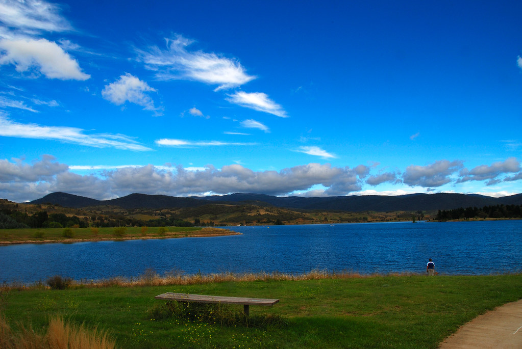 Looking Out Over Lake Jindabyne