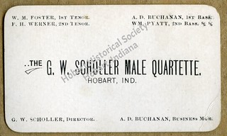 Scholler quartette card