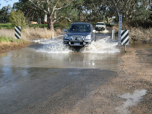 Flooded ford