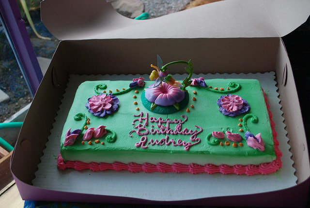 Tinkerbell cake   from Borracchini's.   By: Peacock Modern ...