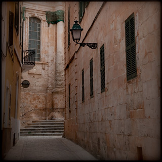 The streets of Ciutadella
