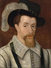 James I, King of England, and his family