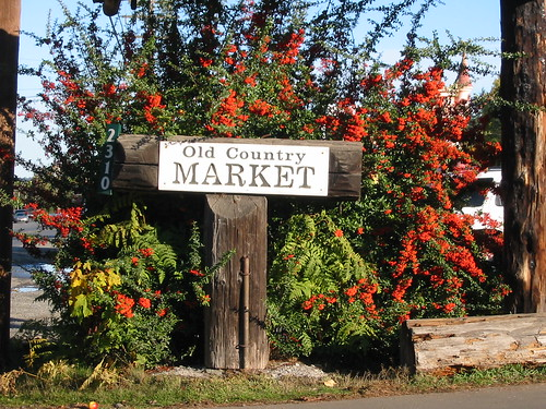 Old Country Market Sign
