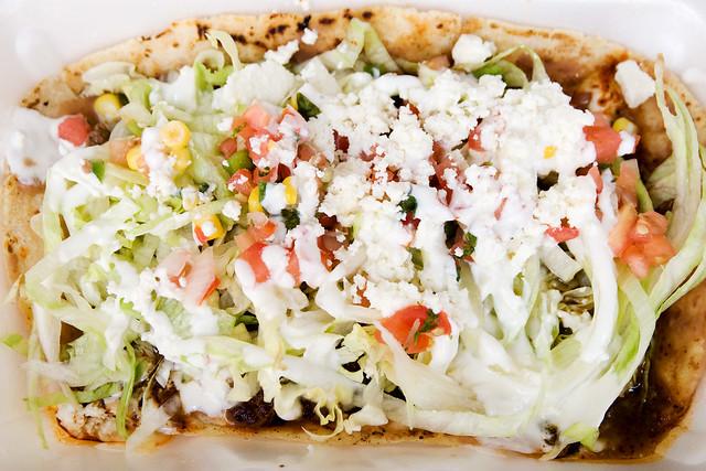 Huarache Mexican Food Recipe