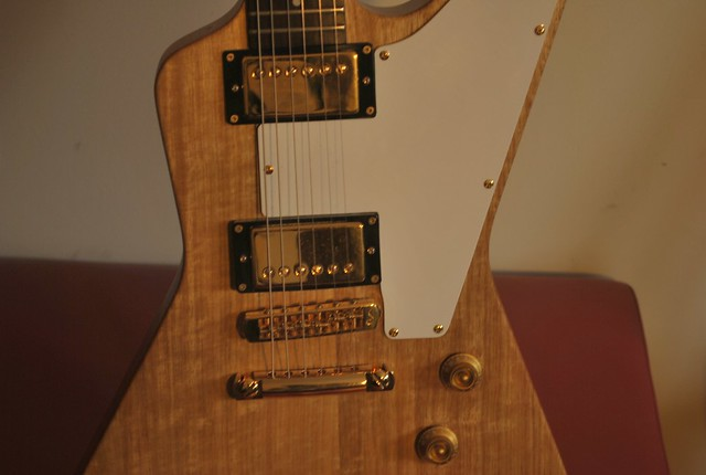 Photo:Orville by Gibson Korina Prototype Eric Clapton Cut Explorer (no serial number) - EXTREMELY RARE By Freebird_71