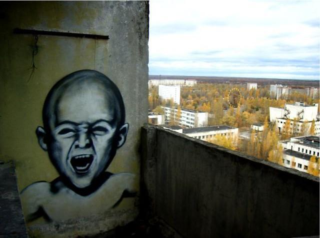 Chernobyl Graffiti