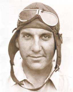 Photograph of airmail pilot Dean Smith