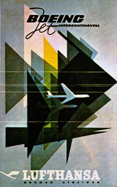 Plakat Lufthansa