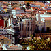 PANORAMIC OF DOWNTOWN LISBON - PANORAMICA DA BAIXA LISBOETA (LISBON/PORTUGAL)