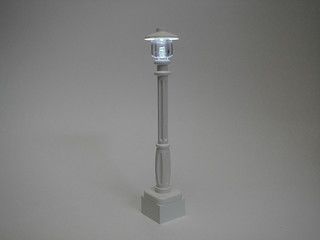 Lighted LEGO Lamp Post