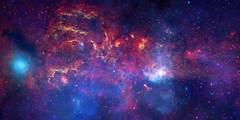Center of the Milky Way Galaxy (NASA, Chandra, 11/10/09)