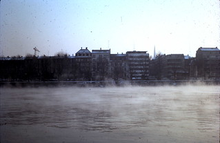 Mist on the Rhine at Basel