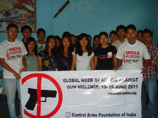 Week of Action Against Gun Violence 2011 - India_CAFI_how guns & gun violence have proliferated