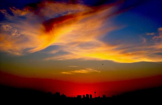 Nubes en el Ocaso II - Clouds at sunset II