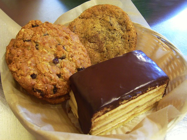 Oatmeal Raisin cookie, chocolate chip cookies, and Boston … | Flickr ...