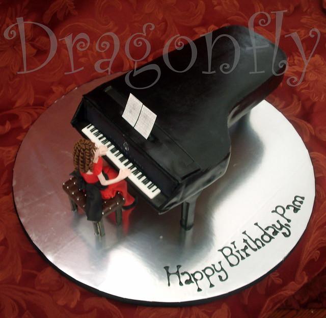 Sinatra Birthday Cake