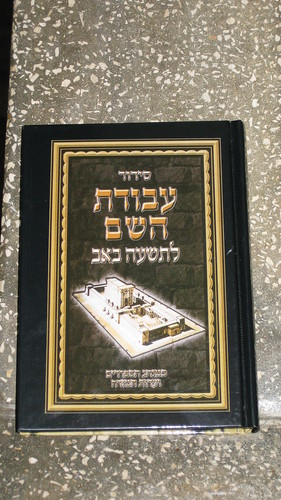 Siddur Avodat HaShem - Tisha b'Av
