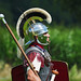 Roman Soldier, Ermine Street Guard, Kelmarsh Festival of History 2009 by Steve Greaves