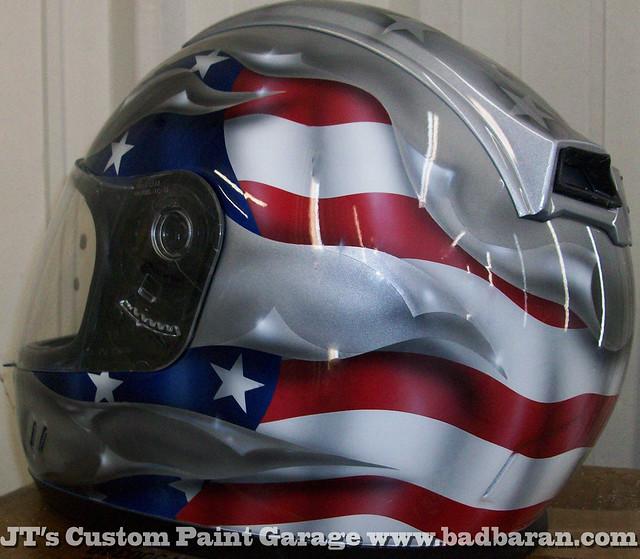 Custom Painted Motorcycle Helmets San Diego