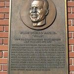San Francisco: AT&T Park - Willie Mays plaque