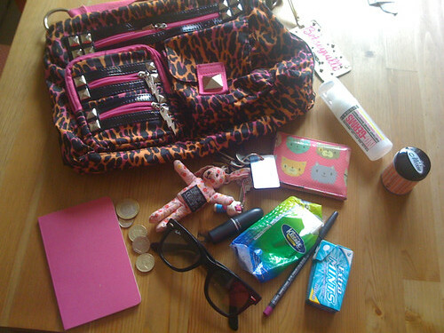 What's in my bag - July '09