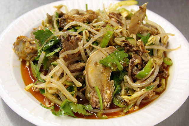 "Lamb face salad"" at Xi'an Famous Foods, Flushing, Queens 