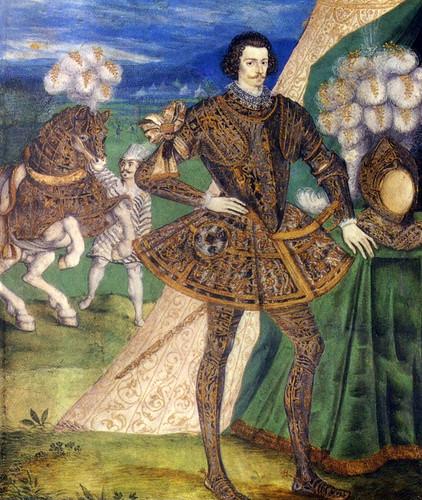 Robert Devereux, Earl of Essex, son of Lettice Knollys, great-grandson of Mary Boleyn