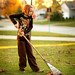 indian summer claire raking