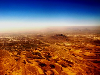 KANDAHAR FROM THE AIR