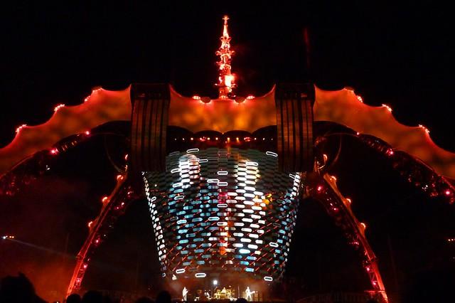 U2 in Las Vegas 2009