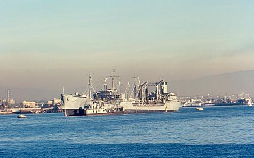 San Diego - Navy Oiler Taluga (AO-62)