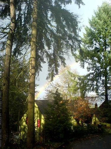 rainbow over paula's house   DSC03233