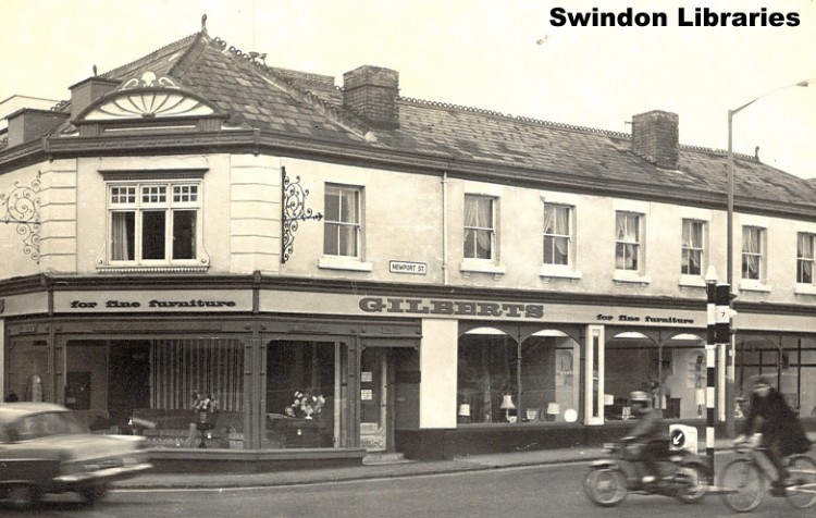 C1960s Gilberts On Newport Street Old Town Swindon Flickr