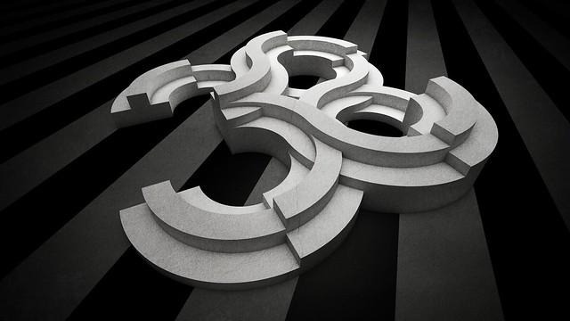 38 Logo: Tilted Grunge