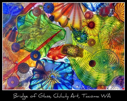 Bridge of Glass, Chihuly Art, Tacoma WA