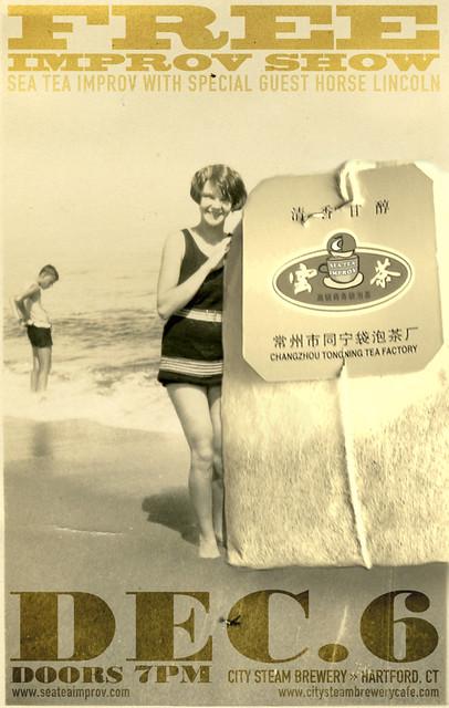 Sea Tea Improv on December 6