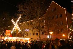 Neubrandenburg Weihnachten 2009 - Weberglockenmarkt