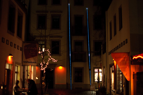 Kunsthof - blue stripes