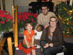 Hendricks Family at Christmas 2009