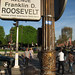 Small photo of Franklin D. Roosevelt Avenue sign