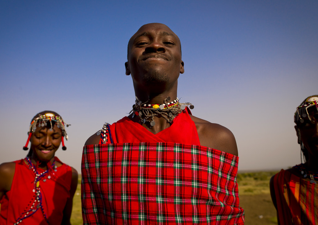 Maasai warrior  - Kenya