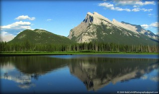 Mount Rundle - First Vermilion Lake, Banff, Alberta
