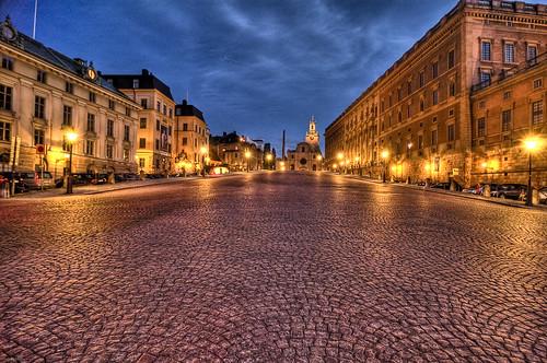 Stockholm, Sweden Olde Town HDR-21