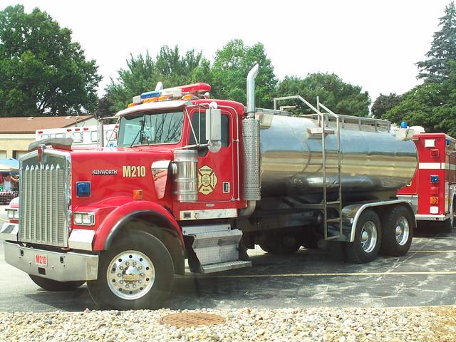 Kenworth Fire Truck Tanker