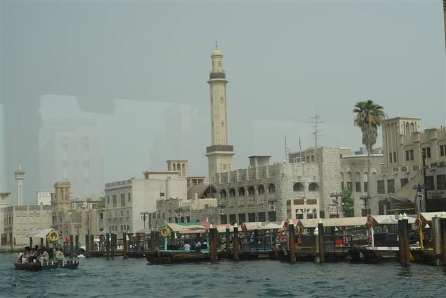 Dubai Creek y Rio desde barco