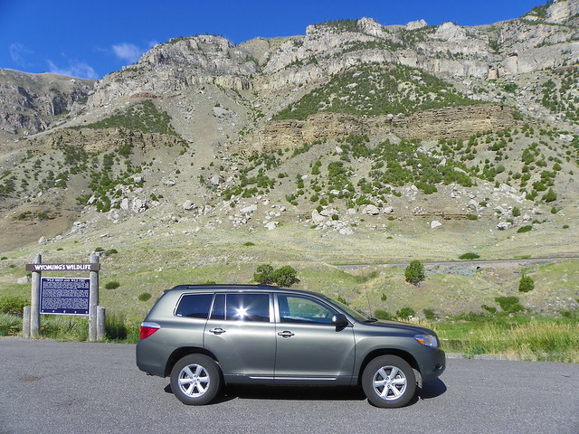 My Rental Car In The Wind River Canyon Flickr Photo
