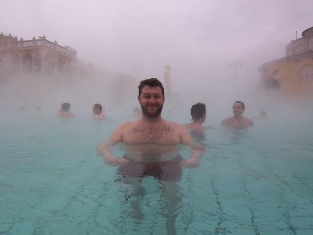 Baño Grande Balneario:Disfrutando del balneario Széchenyi,Budapest
