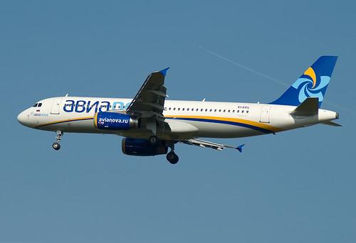 EI-EEL Avianova Airbus A320-212